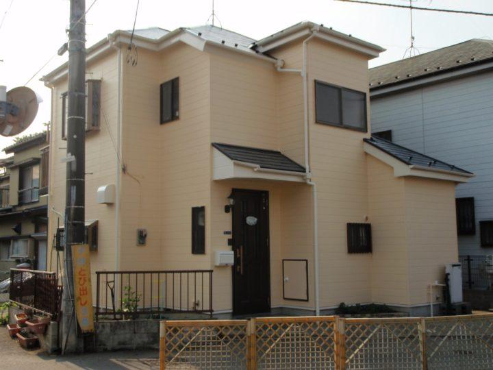 群馬県伊勢崎市 外壁塗装・屋根塗装 B様邸